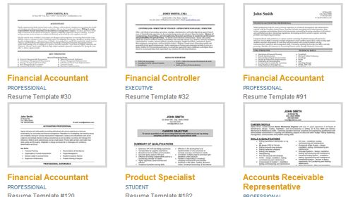 Premium Resume Templates from www.resumetemplates101.com