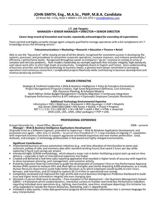 images senior manager resume template senior manager resume template