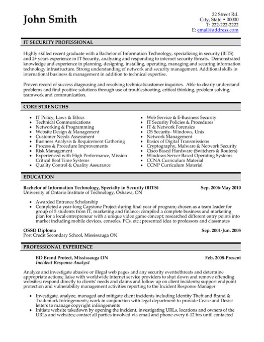 professional cv template .