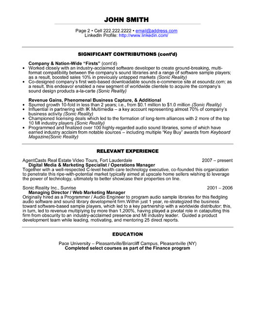 digital advertising sales cover letter
