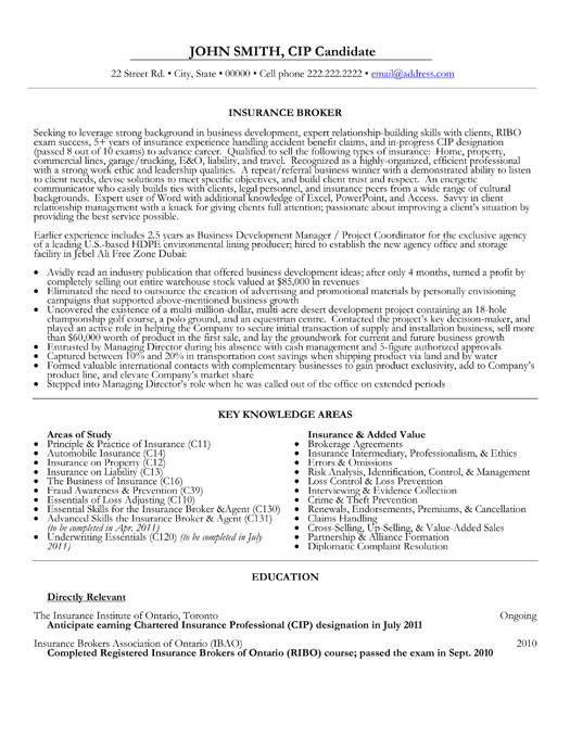 insurance broker resume sample insurance broker resume template premium samples amp example sample agent