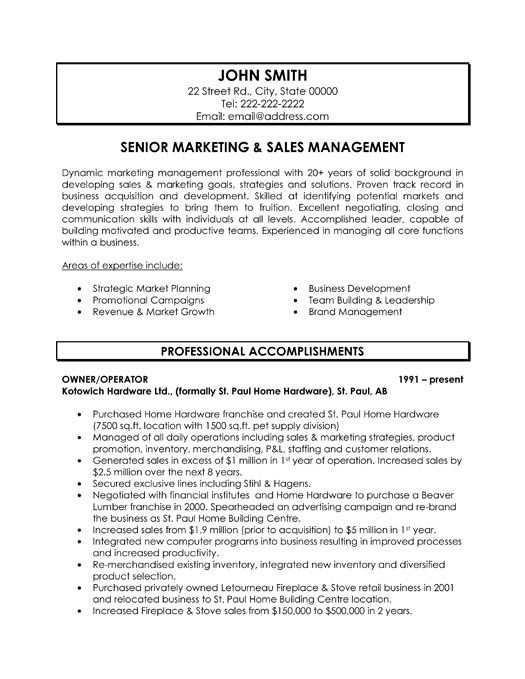 marketing sample resume cover letter marketing sample resume director of marketing resume samples marketing summary for