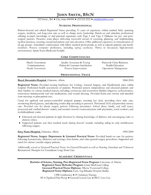 nursing professional resume template premium resume samples example. Black Bedroom Furniture Sets. Home Design Ideas
