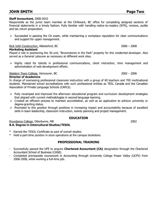 sle assistant controller resume images