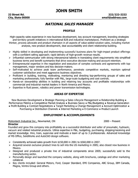 Watershed Manager Cover Letter Sales Manager Cover Letter Sample