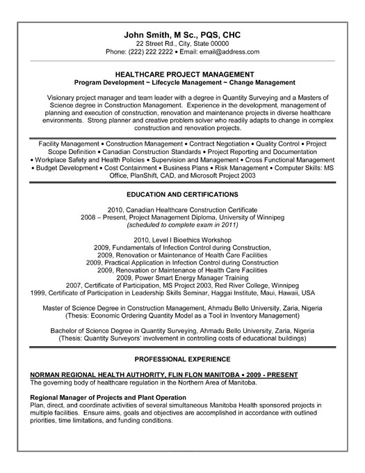 construction superintendent resume templates resume templates