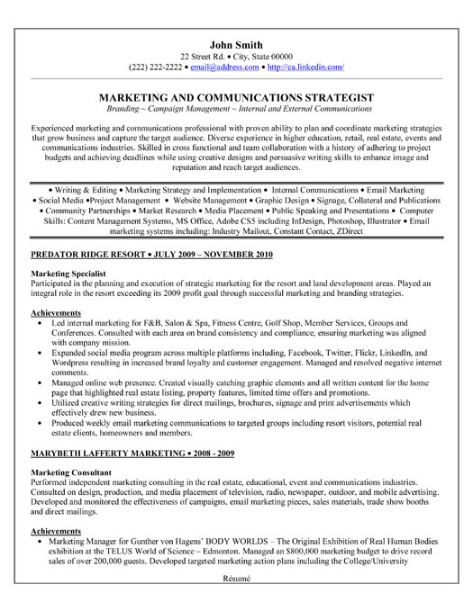 ... Specialist Resume Template | Premium Resume Samples & Example