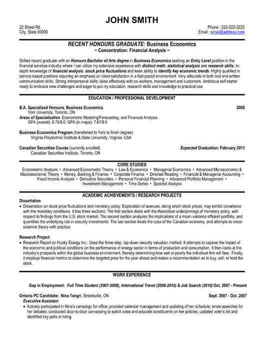 financial analystproposal manager resume sample