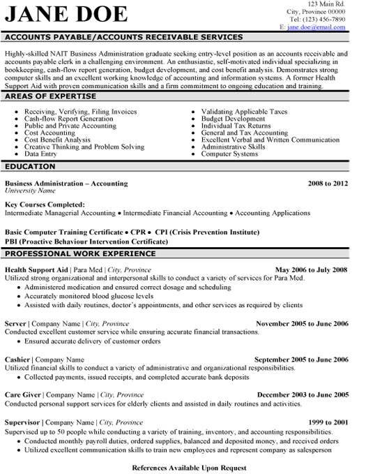 Image Result For Accounts Payable Specialist Resume