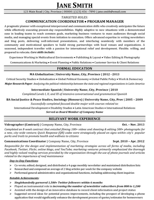 Beautiful Resume Continuing Education Examples Ncqik Limdns Org Free Resume Cover  Letters Microsoft Word Human Resources Coordinator Inside Program Coordinator Resume