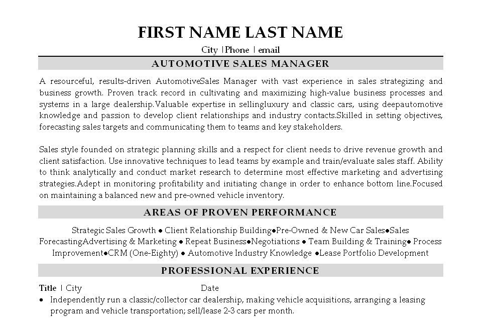 Sales Manager Resume. Buying Director Resume Sales Director Lewesmr ...