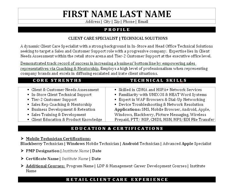 client services specialist cover letter