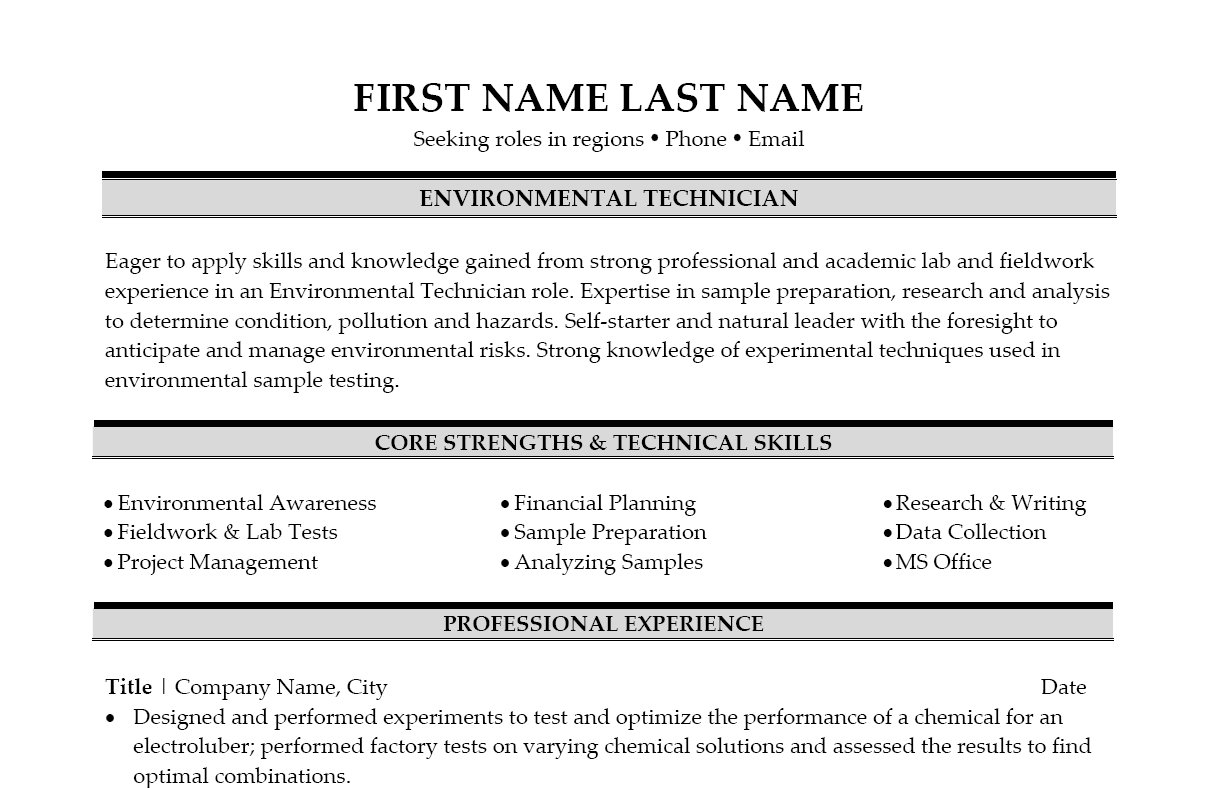 environmental science resume environmental science resume 197