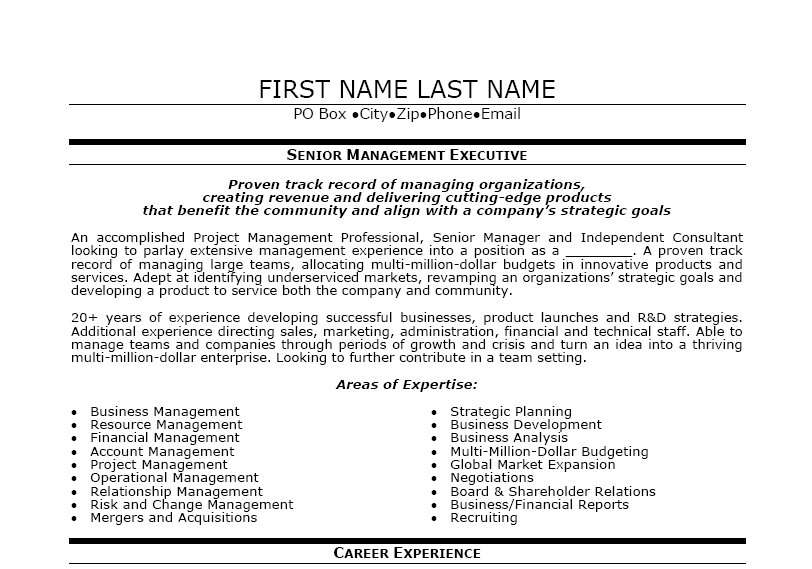... Executive Resume Template | Premium Resume Samples & Example