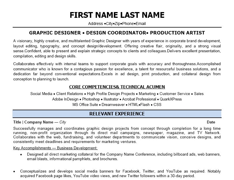 Design Coordinator Resume Template | Premium Resume Samples & Example