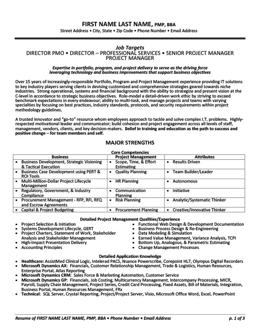 Health Care Consultant Resume Template