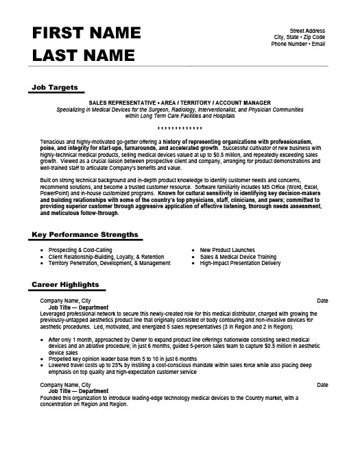 Business Development Manager Resume Template | Premium Resume ...
