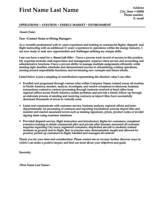 flight operations specialist sample resume senior operations - Flight Operations Specialist Sample Resume