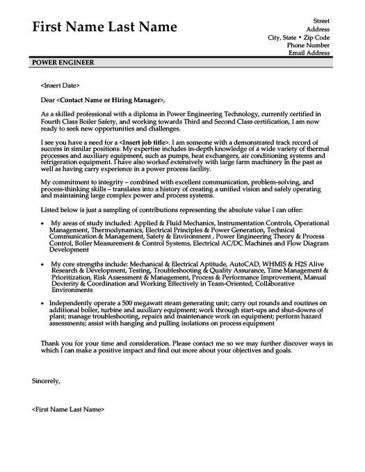 power engineer resume template premium resume samples example - Power Plant Engineer Sample Resume