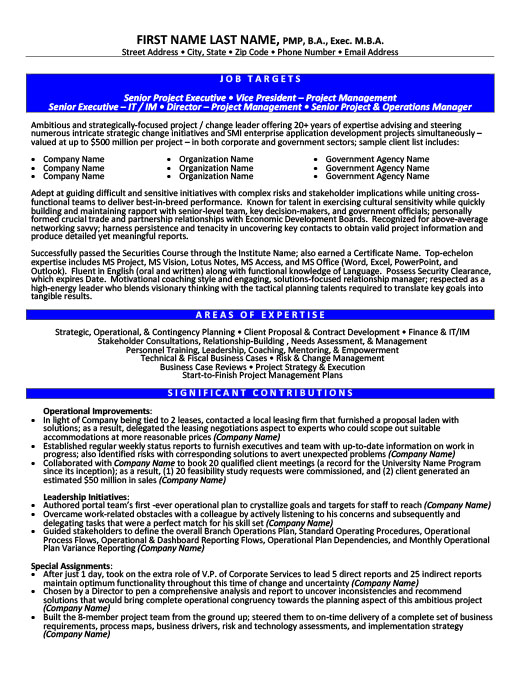 information technology resume templates  samples