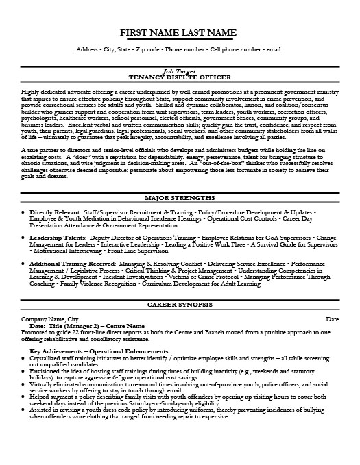 Government Resume Templates Sles Exles 101. Dispute Officer. Resume. Government Resume At Quickblog.org