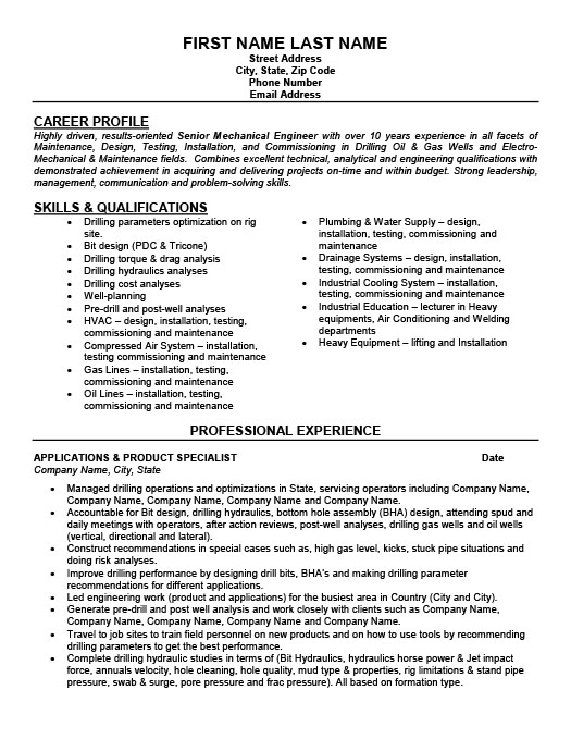 General Accountant Resume Template  Premium Resume Samples  Example