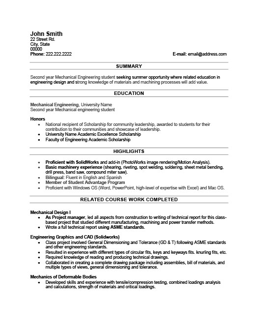 student resume template premium resume samples example