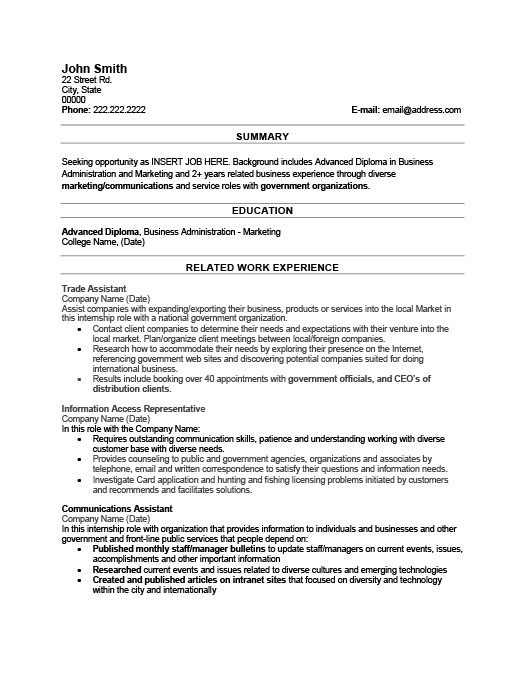 trade assistant resume template premium resume sles