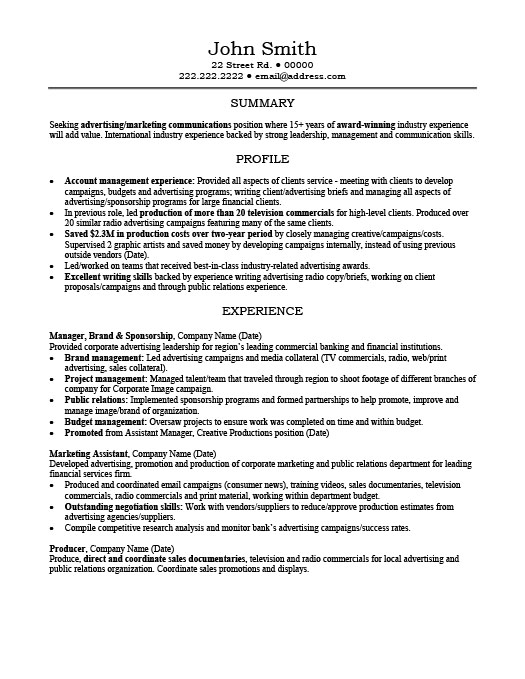 Account Manager Resume Template Premium Resume Samples Example