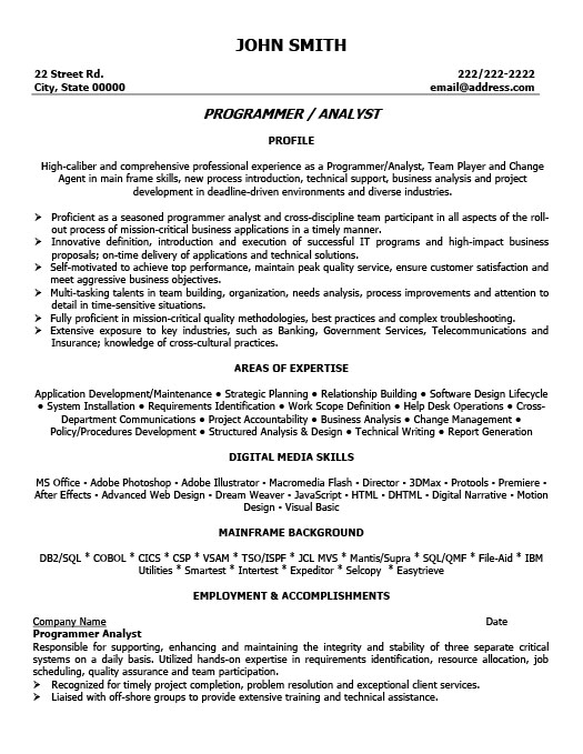Program Yst Professionalresume Template
