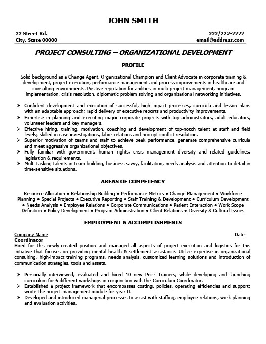 Project Coordinator Resume  Program Coordinator Resume