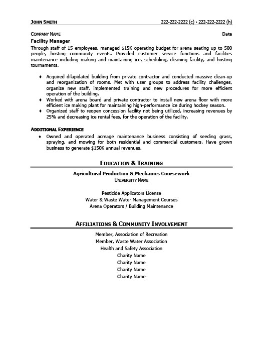 Awesome Charity Manager Resume Gallery - Best Resume Examples and ...