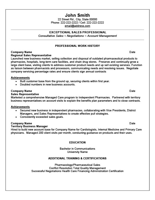 sales professional resume template sales professional resume template premium resume samples amp example professional resumes writing resume sample - Resume Sample Professional