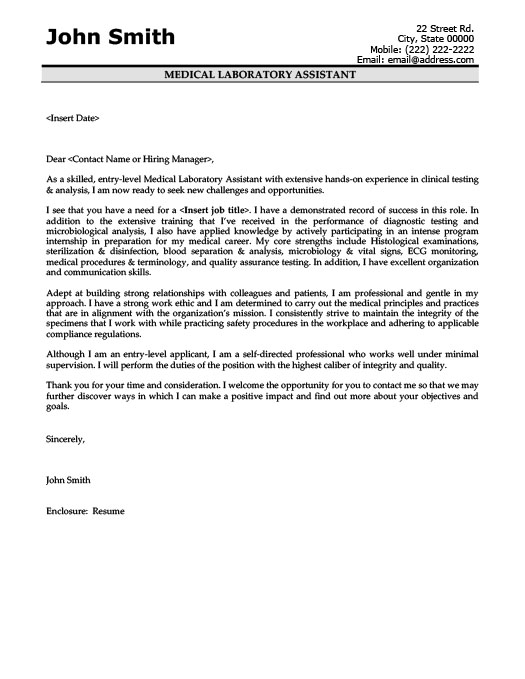 Sample Cover Letter For Lab Assistant Phillywordlivecom Heart