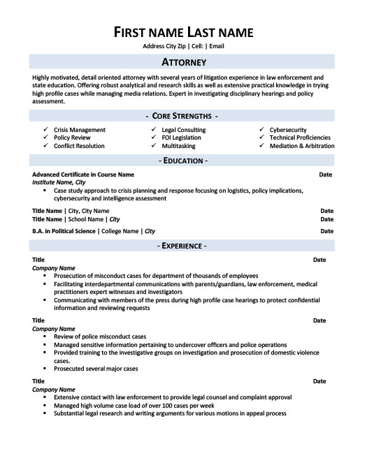 lawyer resume template litigation lawyer resume template premium resume samples 22710