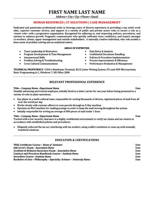 field safety coordinator resume template